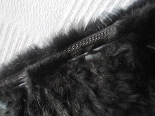 Di Piu Fur & Leather Messenger Bag-4