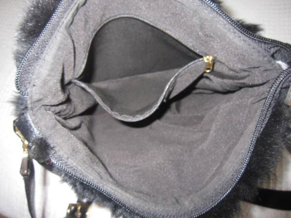 Di Piu Fur & Leather Messenger Bag-5