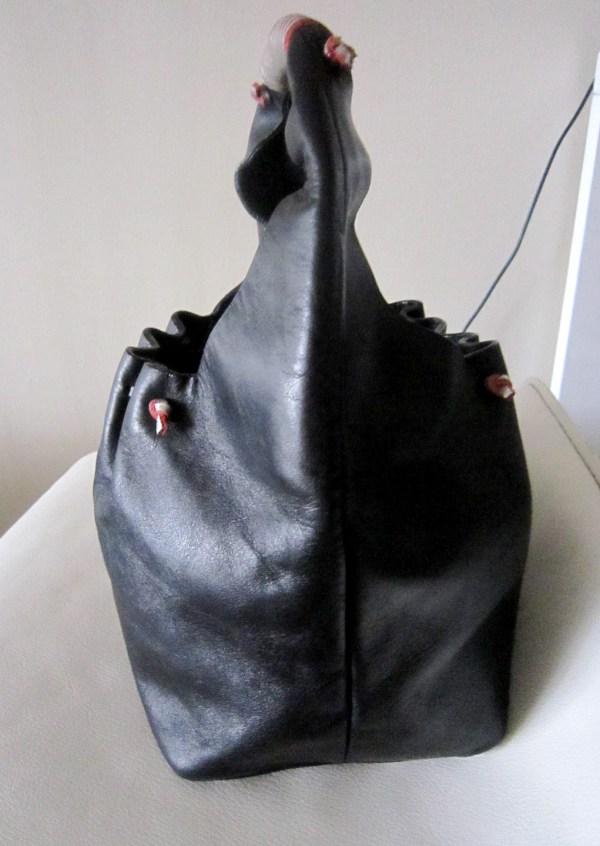 Dolce   Gabbana Black Leather Hobo Bag - Luxurylana Boutique 1d2341c017