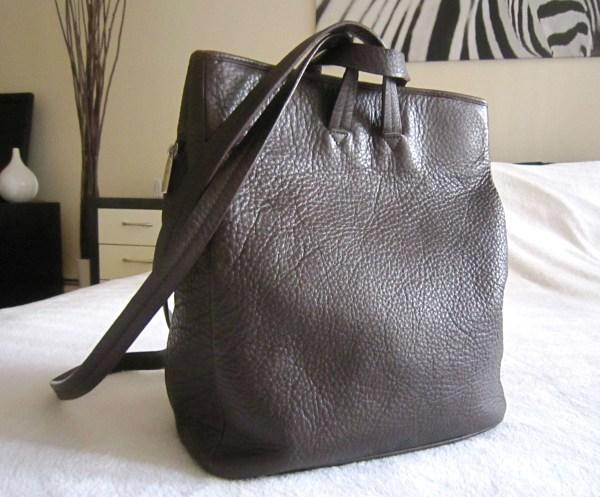 Ellington Brown Leather Backpack