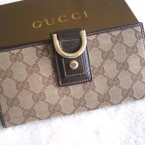 Gucci GG Abbey Long Wallet