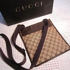 Gucci GG Flat Messenger Bag