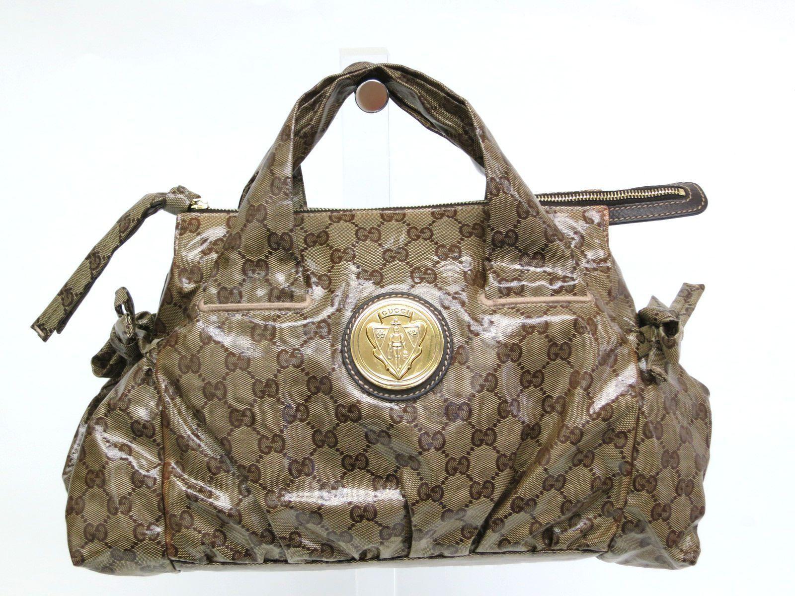 5190558ce18 Gucci GG Monogram Crystal Hysteria Handbag - Luxurylana Boutique