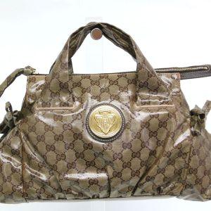 Gucci GG Monogram Crystal Hysteria Handbag