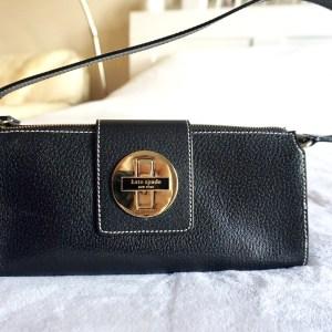 Kate Spade Turn Lock Leather Bag