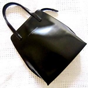 Katharine Hamnett London Black Leather Handbag