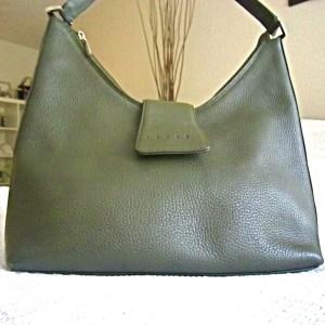 Lazaro Olive Leather Hobo Bag