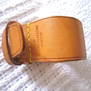 Louis Vuitton Leather Strap Holder for Keepall