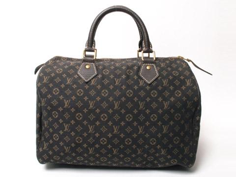louis vuitton mini lin ebene speedy 30 handbag luxurylana boutique