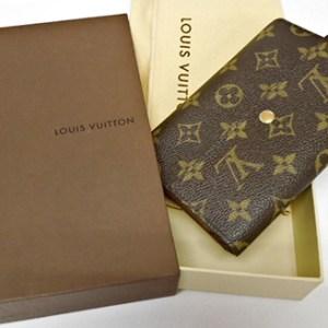 Louis Vuitton Monogram Porte Tresor Etui Papiers Wallet