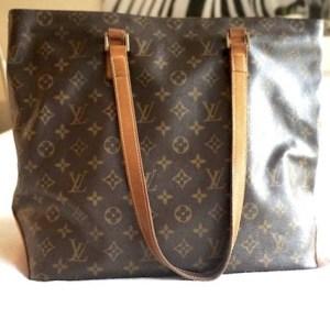Louis Vuitton Monogram Cabas Mezzo Large Tote Bag