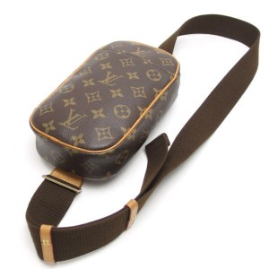 Louis Vuitton Monogram Pochette Gange Crossbody Bag