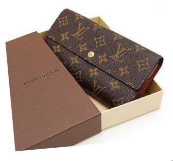 9f950e58a5d Louis Vuitton Monogram Portefeuille Sarah Wallet - Luxurylana Boutique