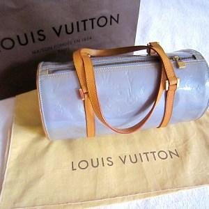 Louis Vuitton Papillon 30 Lavender Vernis Bag