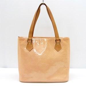 Louis Vuitton Rose Monogram Vernis Houston Handbag