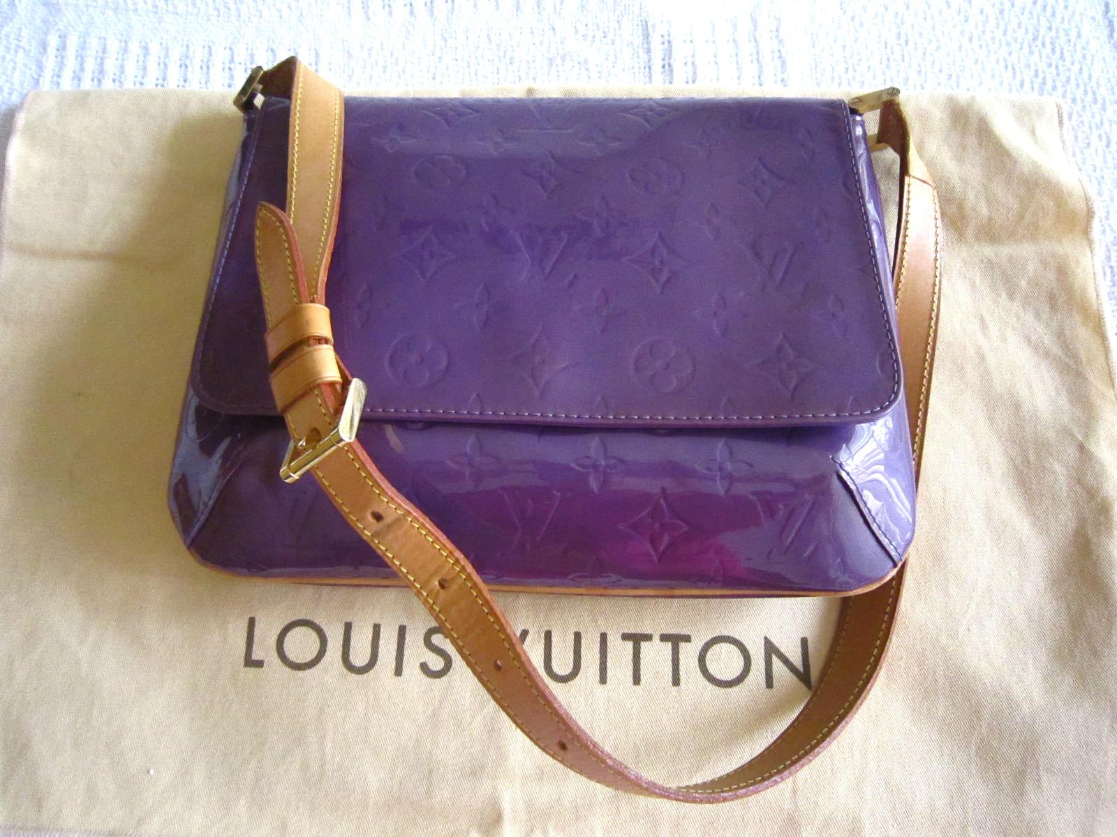 ce29cf13c Louis Vuitton Thompson Street Purple Vernis Shoulder Bag ...