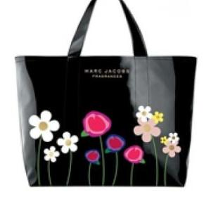 Marc By Marc Jacobs Lola Flower Black Tote-1