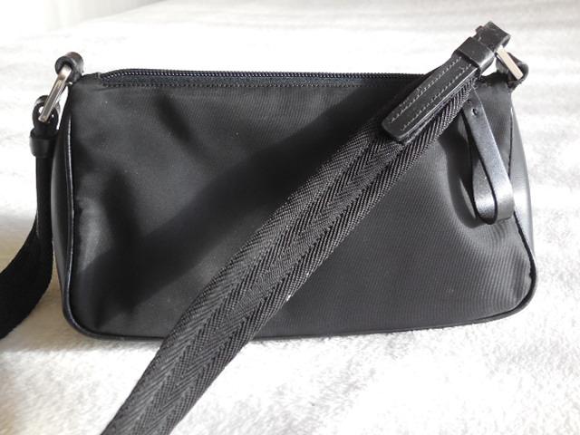 d6698d72b Prada Vintage Black Shoulder Bag - Luxurylana Boutique