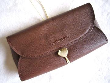 Trussardi Leather Clutch-2