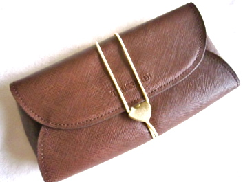 Trussardi Leather Clutch