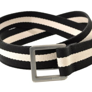 Bally Icaleiro White & Black Belt