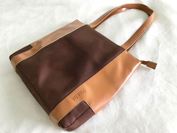 Prada Vintage Classic Brown Tote