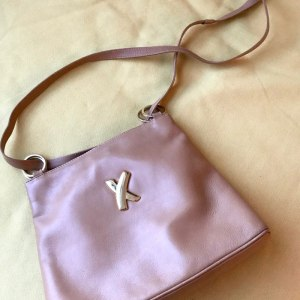 Paloma Picasso Tan Leather Shoulder Bag