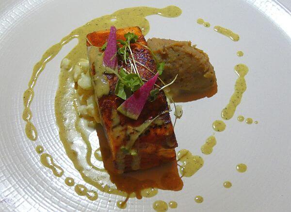 Casa Velas Emiliano Restaurant fish dish