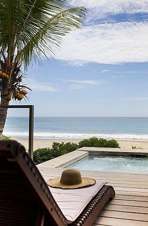 Suite view from Arrenas Mancora Resort in northern Peru