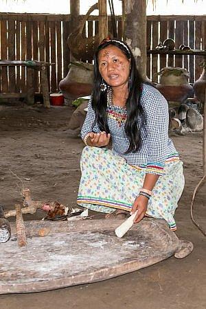 The Kichwa Anangu Community runs Napo Wildlife Center lodge within the Yasuní National Park