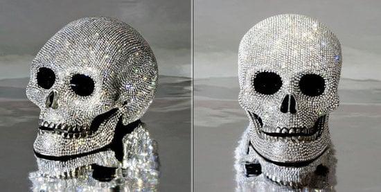 Swarovski Studded Diamond Skull Up For Grabs