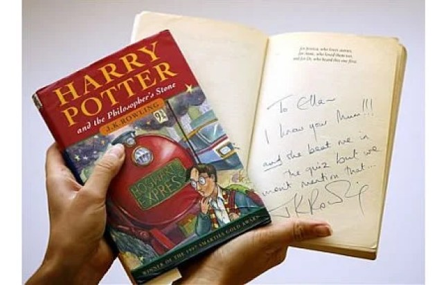 Image result for harry potter's first book