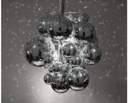 Confetti Light A Disco Ball Chandelier
