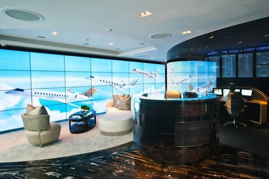 Worlds First Business Jet Aircraft Showroom Opens Up In
