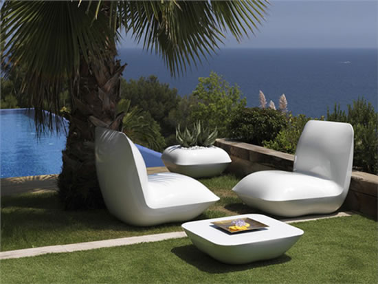 pillow patio collection lights up for