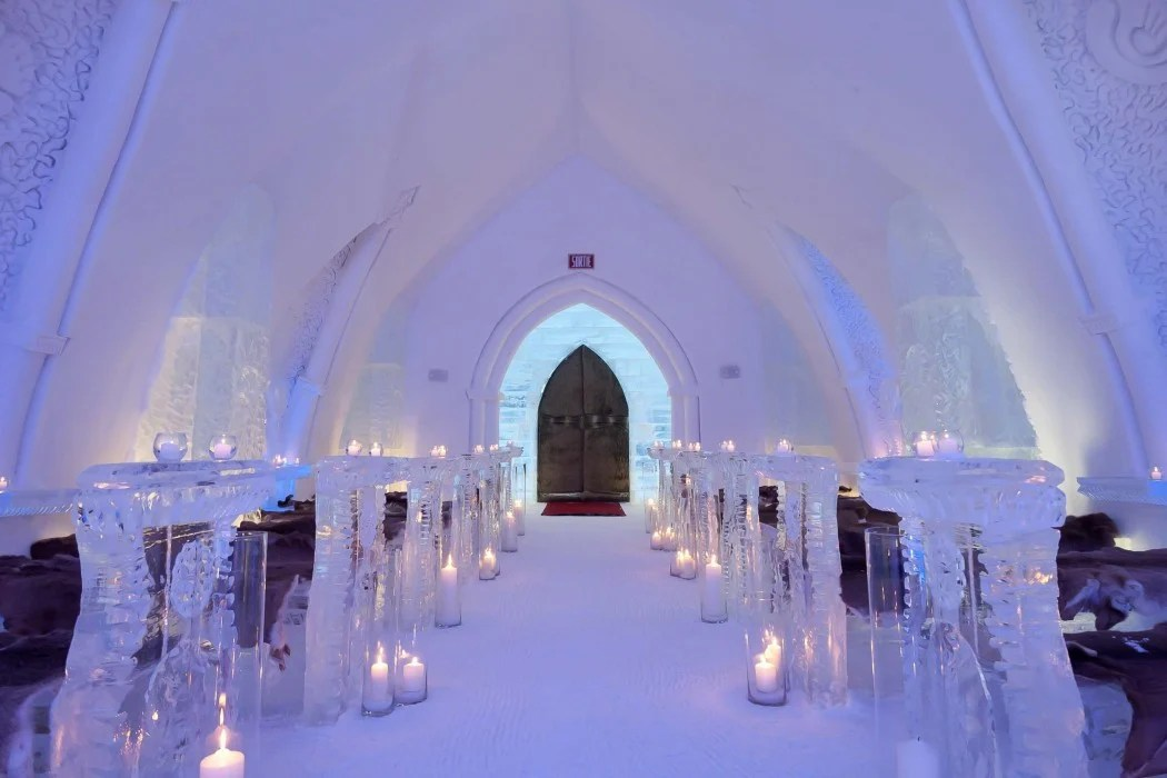 LHtel De Glace In Canada Is The Ultimate Luxurious Abode