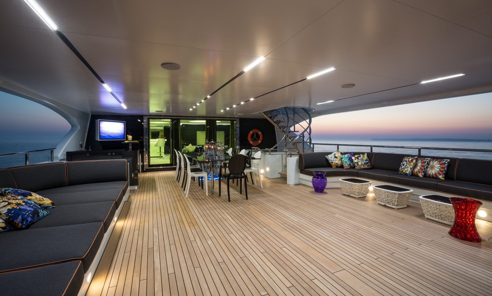 Take A Look Inside The Largest Boat At The Cannes Yachting