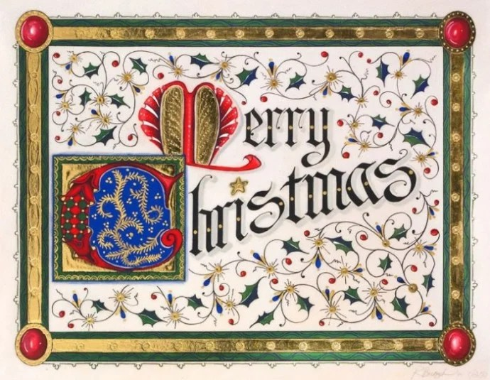 The Worlds Most Expensive Christmas Card Is Bejeweled