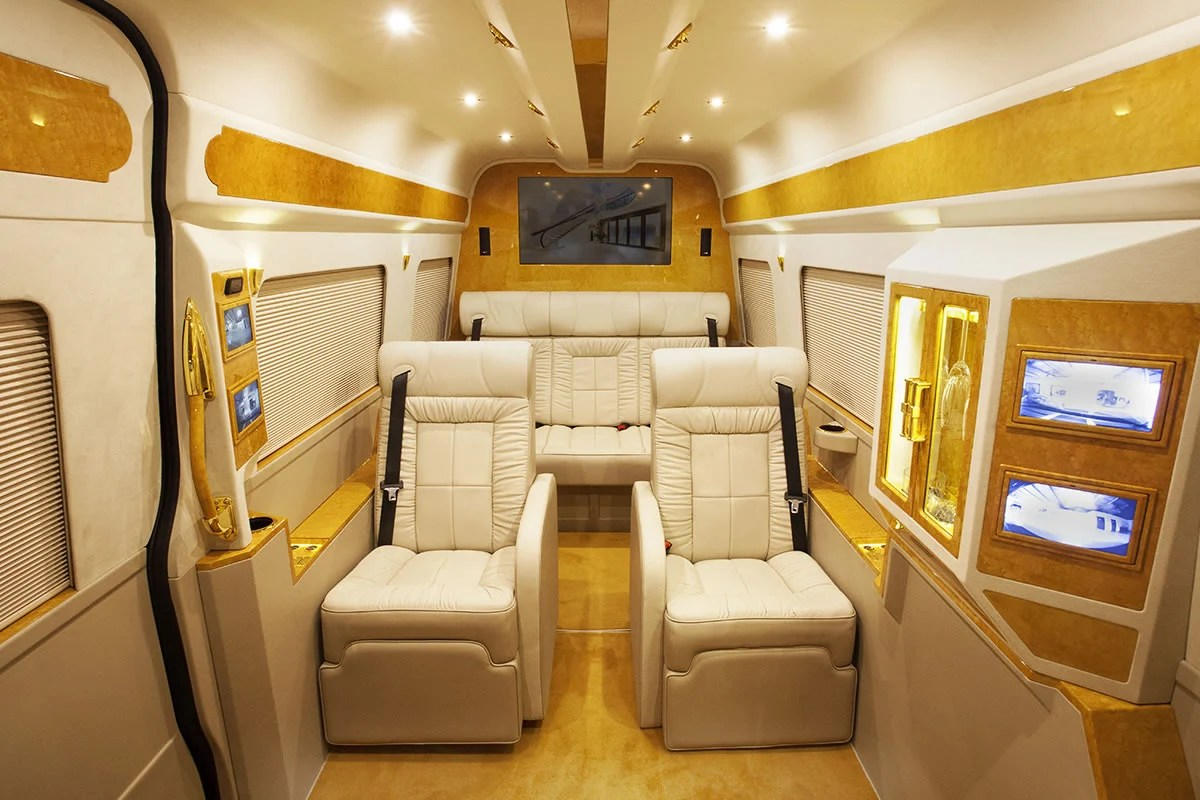Meet Grazia A Lavish Custom Mercedes Sprinter Van That
