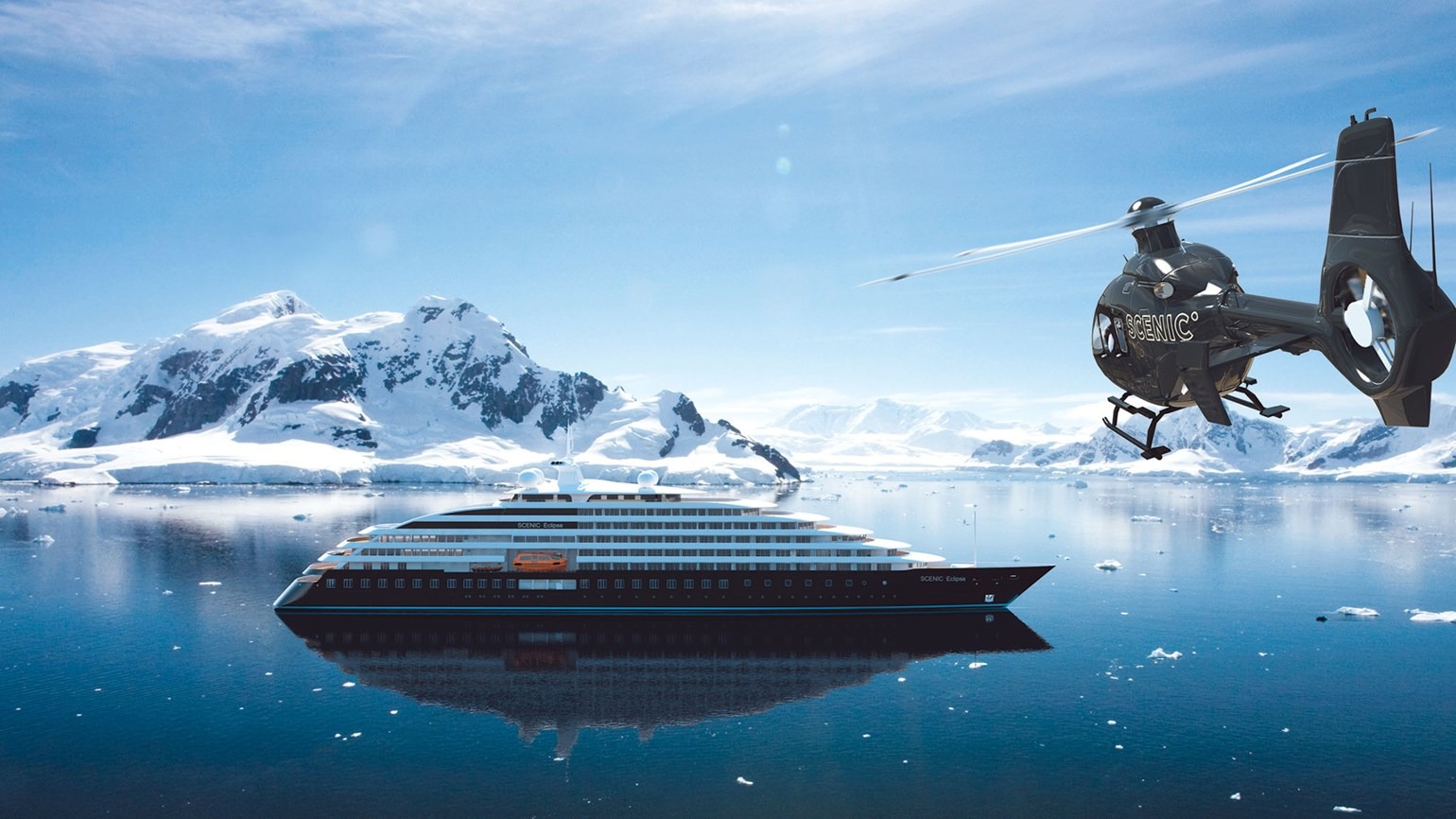 Scenic Eclipse The Worlds First 6 Star Discovery Yacht With Helicopters And A Submarine