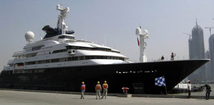 Microsoft Co Founder Paul Allens 300 Foot Yacht