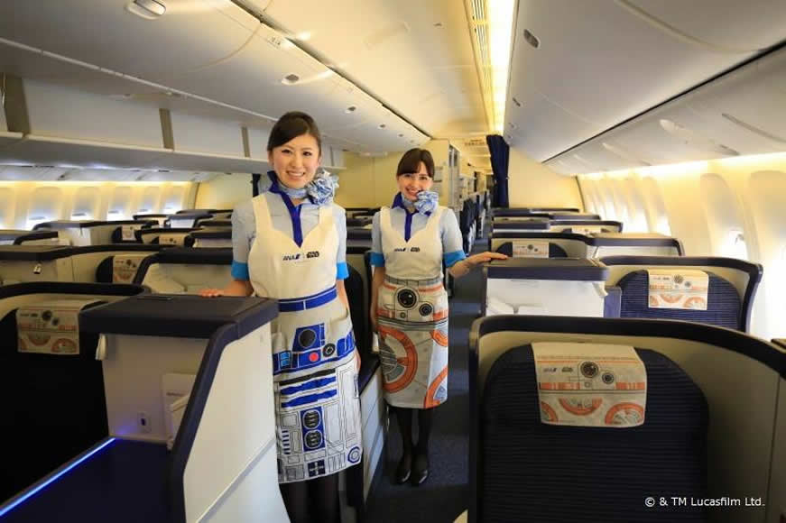 Japan S Ana Airlines Has Made The Best Star Wars Opening