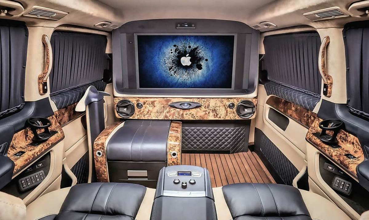 Ever Seen A Luxury Yacht On Wheels Check This Mercedes