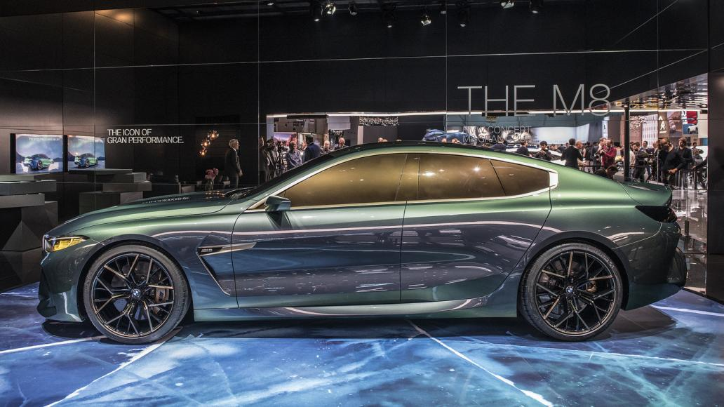 The Bmw Concept M8 Gran Coupe Is Here To Challenge The