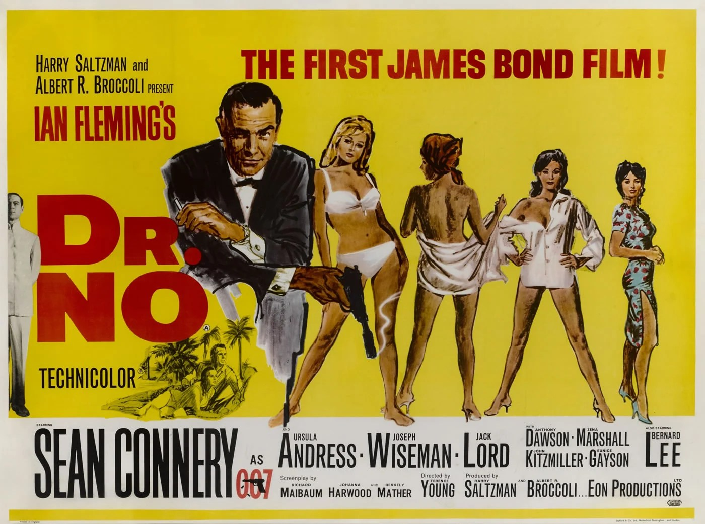 poster of the first james bond movie