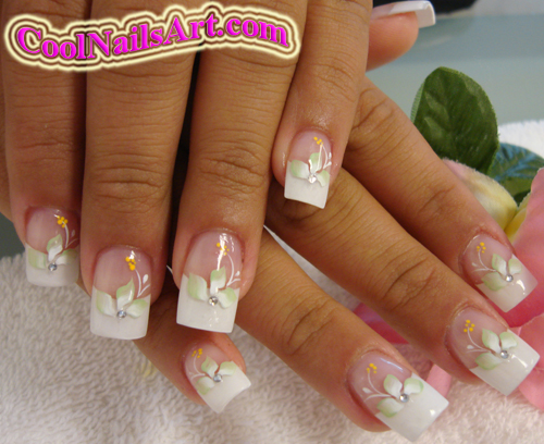 Really Por Design From Coolnailsart Many People Love This Becuase It Is Simple And Cly At The Same Time Nail Art