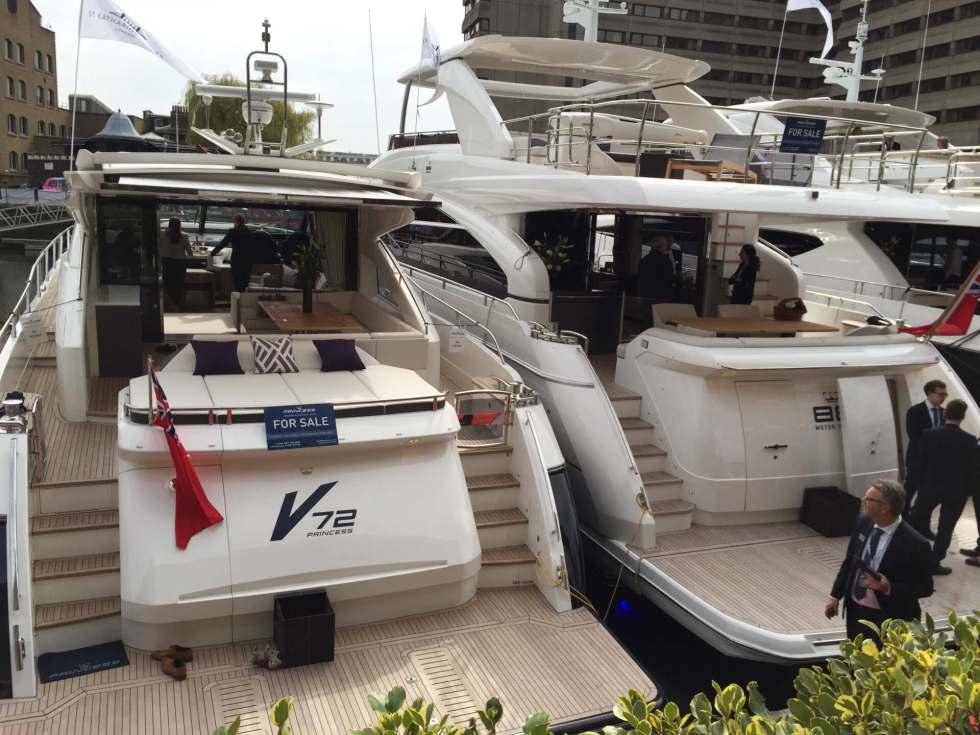 St. Katherine's Dock – The Yachts
