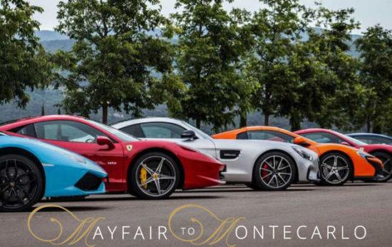 Mayfair To MonteCarlo Supercar Tour! WOW!