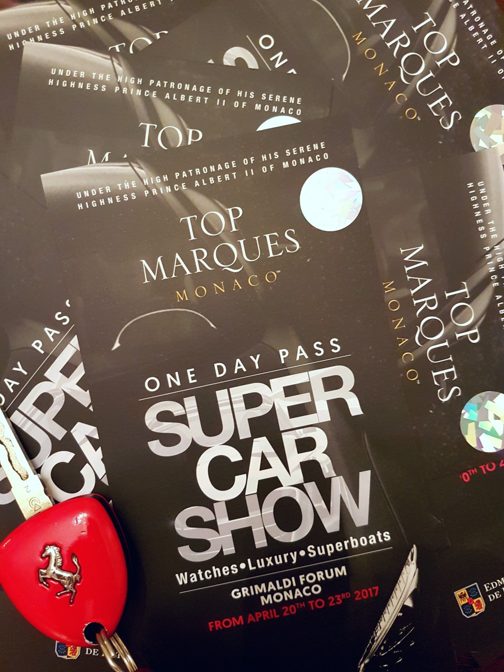 Ticket Giveaway! Top Marques Monaco Tickets!! Hurry Offer Ends Soon!