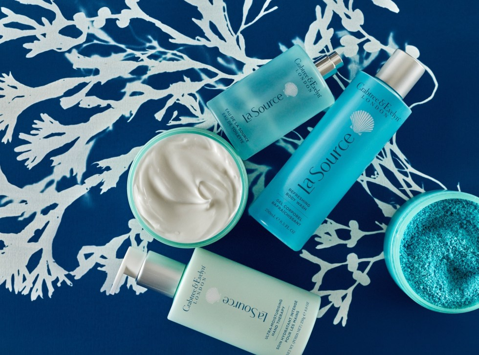 Crabtree & Evelyn – EXPERIENCE THE POWER OF THE SEA NEW MARINE BLENDS